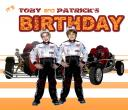 Toby's 5th birthday invitation